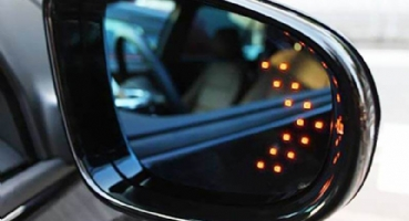 LED Rear Mirror